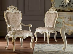 - Upholstered fabric chair with armrests 11503   Chair with armrests - Modenese Gastone group