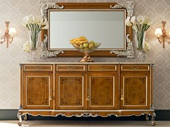 - Solid wood sideboard with doors 12104 | Sideboard - Modenese Gastone group