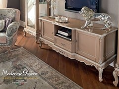 - Low solid wood TV cabinet 12110 | TV cabinet - Modenese Gastone group