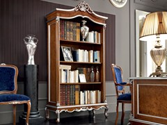 - Open solid wood bookcase 12302 | Bookcase - Modenese Gastone group