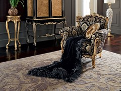 - Solid wood armchair with armrests 12417 | Armchair - Modenese Gastone group