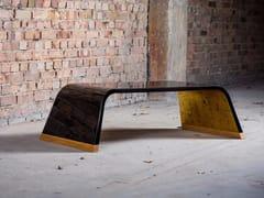 Tavolino rettangolare in legno126.RO EXCLUSIVE GOLD - CHRISTOPH ZANG