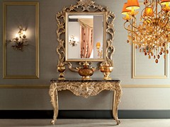 - Rectangular solid wood console table 12611 | Console table - Modenese Gastone group