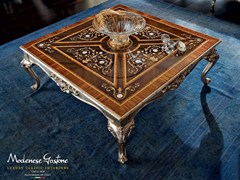 - Low square solid wood coffee table 12627 | Coffee table - Modenese Gastone group