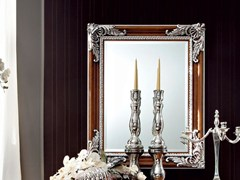 - Rectangular wall-mounted framed mirror 12643 | Mirror - Modenese Gastone group
