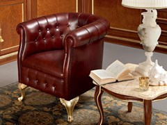 - Upholstered easy chair with armrests 13424   Easy chair - Modenese Gastone group