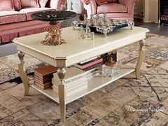 - Rectangular coffee table with integrated magazine rack for living room 13652 | Coffee table - Modenese Gastone group