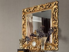 - Square wall-mounted framed mirror 13673 | Mirror - Modenese Gastone group
