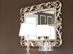 - Rectangular wall-mounted framed mirror 13675 | Mirror - Modenese Gastone group