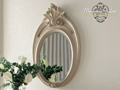 - Baroque wall-mounted framed oval mirror 13676 | Mirror - Modenese Gastone group