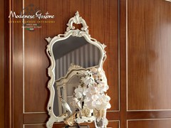 - Rectangular wall-mounted framed mirror 13682 | Mirror - Modenese Gastone group