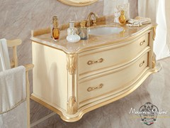 - Wall-mounted vanity unit with doors with drawers 13699 | Vanity unit - Modenese Gastone group