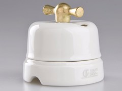 - Electrical socket WHITE ITALY - 14 - GI Gambarelli