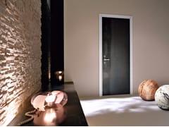 Porta d'ingresso blindata con cerniere a scomparsaMONOLITE - 15.1002 MNT7005 - BAUXT