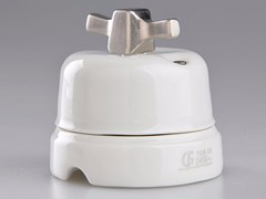 - Electrical socket WHITE ITALY - 16 - GI Gambarelli