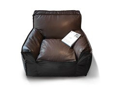 - Upholstered leather armchair with armrests 1700 JELLY | Leather armchair - Vibieffe
