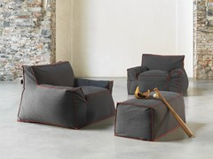 - Upholstered fabric armchair with armrests 1700 JELLY | Fabric armchair - Vibieffe