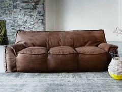- Leather sofa 1700 JELLY | Leather sofa - Vibieffe
