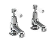 - 2 hole countertop chromed brass washbasin tap KENSINGTON   2 hole washbasin tap - Polo