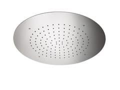 Soffione doccia da incasso in acciaioSOFFIONI | Soffione doccia da incasso - NEWFORM