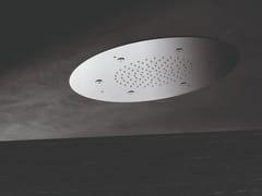 Soffione doccia a soffitto in acciaioSOFFIONI MULTIGETTO | Soffione doccia - NEWFORM