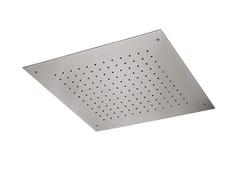 Soffione doccia a pioggia in acciaioSOFFIONI | Soffione doccia in acciaio - NEWFORM