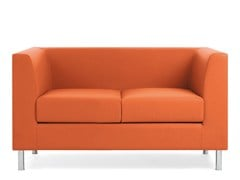 - 2 seater sofa DOMINO | 2 seater sofa - Emmegi