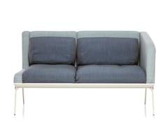 - 2 seater sofa METRO | 2 seater sofa - Emmegi