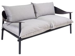 - Upholstered 2 seater garden sofa TERRAMARE | 2 seater sofa - EMU Group S.p.A.