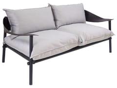 - Upholstered 2 seater garden sofa TERRAMARE | 2 seater sofa - EMU Group
