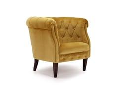 - Tufted armchair with fire retardant padding 203 | Armchair - Domingo Salotti