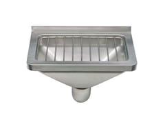Lavabo per disabili in acciaio inox2030   Lavabo per disabili - SANILINE BY THERMOMAT