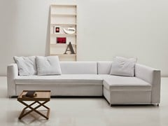 - Fabric sofa bed with chaise longue 2800 BEL AIR | Sofa bed with chaise longue - Vibieffe