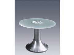 - Coffee table with light for living room GUÉRIDON 3 - Jean Perzel