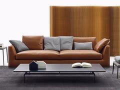 - 3 seater leather sofa RICHARD | 3 seater sofa - B&B Italia