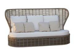 - Divano da giardino con schienale alto per contract DRONE 23193 - SKYLINE design