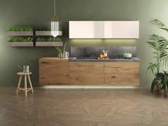 Cucina componibile laccata lineare36E8 STEEL PLUS | Cucina lineare - LAGO