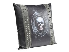 - Cuscino quadrato in materiale sintetico in stile moderno 3D SKULL RIVET 45x45 - KARE-DESIGN