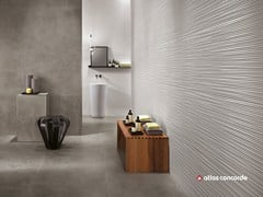 - White-paste 3D Wall Cladding 3D WALL DESIGN LINE - Atlas Concorde