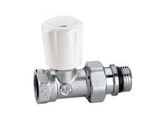 - Valve, sluice, sluice gate for system 422 Straight convertible radiator valve - CALEFFI