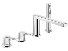 - 4 hole bathtub set with hand shower HANDY 42 - 4231404 - Fir Italia