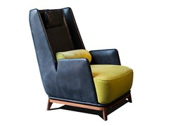 - High-back armchair with armrests 430 OPERA CB   Armchair with armrests - Vibieffe