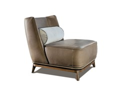 - Upholstered leather armchair 430 OPERA | Leather armchair - Vibieffe