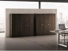 - Tall ebony office storage unit 45/90 | Tall office storage unit - IFT
