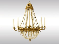 LAMPADA A SOSPENSIONE8-CANDLE CHANDELIER - WOKA LAMPS VIENNA