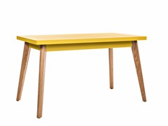 - Rectangular dining table 55 | Wooden table - Tolix Steel Design