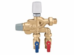 - Multi-function compact unit for domestic water system 6005 LEGIOFLOW® - art. 600502 - CALEFFI