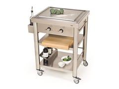 Modulo cucina freestanding con piastra teppanyaki697050 | Modulo cucina freestanding - JOKODOMUS