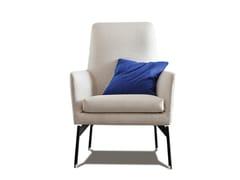 - High-back armchair with armrests 770 LEVEL | High-back armchair - Vibieffe