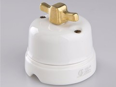 - Electrical socket WHITE ITALY - 9 - GI Gambarelli